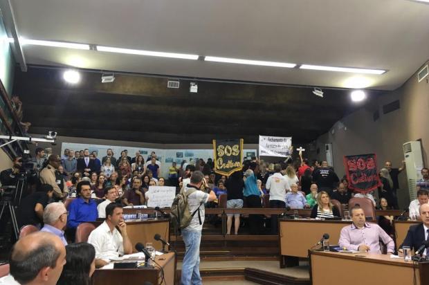 Grupos pedem medidas de segurança na Câmara de Vereadores de Caxias do Sul Suelen Mapelli/Agência RBS