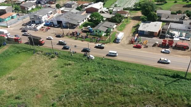 Ciclista morre atropelado na BR-285, em Vacaria PRF / divulgação/divulgação