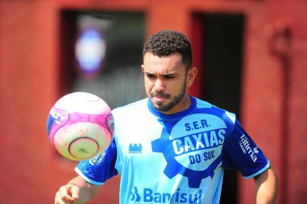 Atacante Túlio Renan ainda busca primeiro gol pelo Caxias Porthus Junior/Agencia RBS