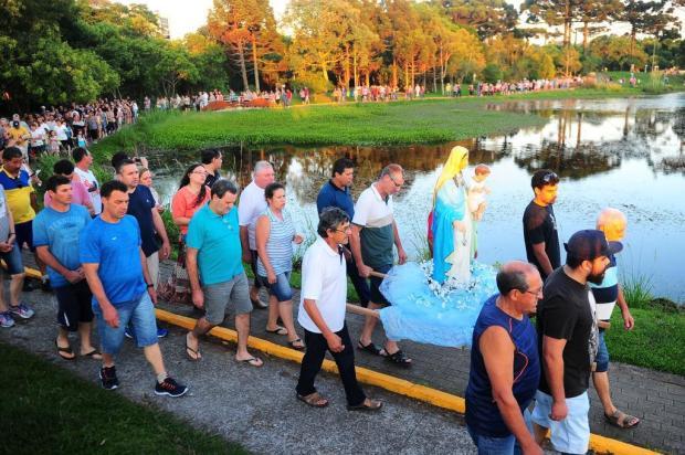 Católicos celebram Nossa Senhora dos Navegantes em procissão em Caxias Porthus Junior/Agencia RBS
