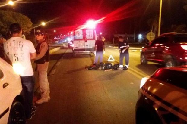 Idoso morre atropelado em Vacaria PRF Vacaria/divulgação