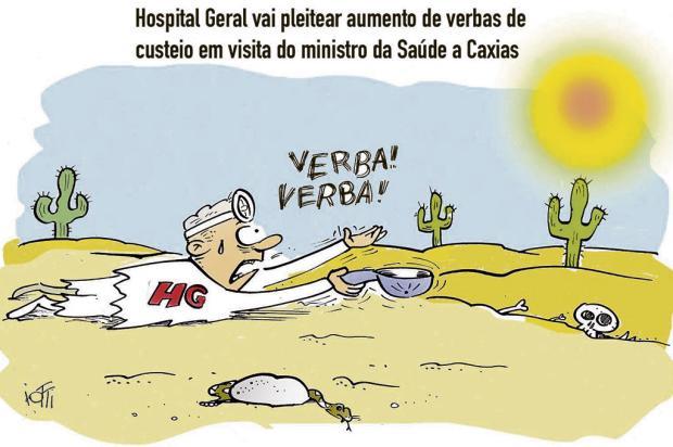 Iotti: ajuda ao Hospital Geral Iotti/