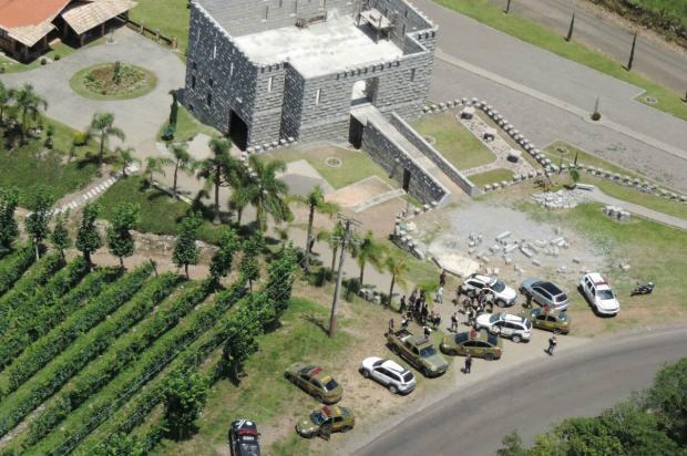 Cerco a criminosos que atacaram carro-forte na Serra já dura três dias BM / Divulgação/Divulgação
