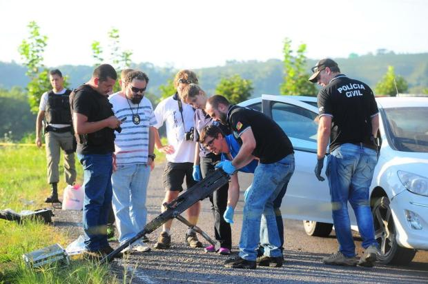 Continuam as buscas pelos criminosos que atacaram carro-forte em Bento Gonçalves Porthus Junior/Agencia RBS