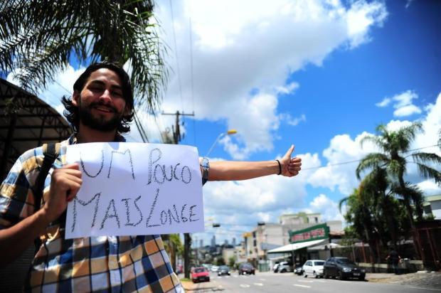3por4: Conheça a história do mochileiro argentino que quer visitar 100 países Porthus Junior/Agencia RBS
