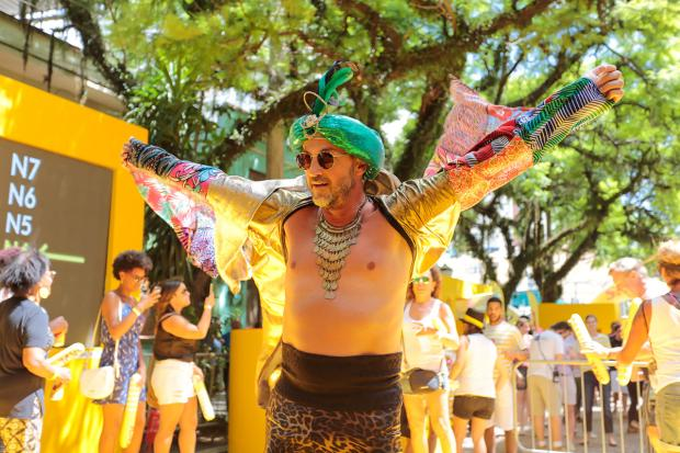 Nordestão Skol refresca o Carnaval de Rua de Porto Alegre Vini Dalla Rosa / Divulgação/Divulgação