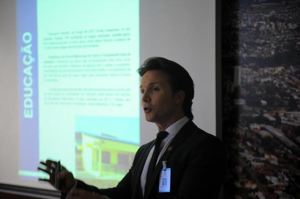 """""""Tem de ser pedido para quem prometeu"""", dispara prefeito de Caxias sobre obras do Orçamento Comunitário Felipe Nyland/Agencia RBS"""