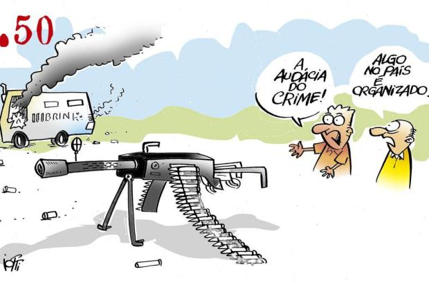 Iotti: Brasil do crime organizado Iotti/Iotti
