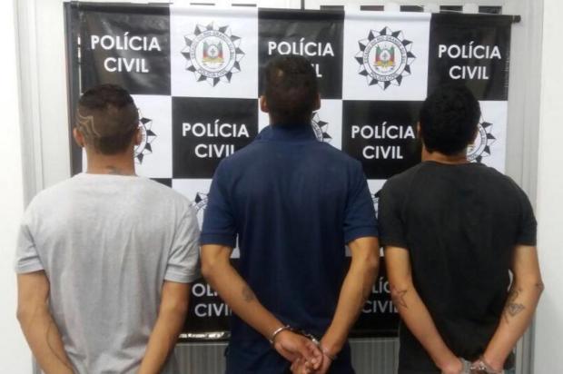 Polícia Civil prende quatro pessoas por furto, roubo e receptação de veículos em Caxias Polícia Civil/divulgação