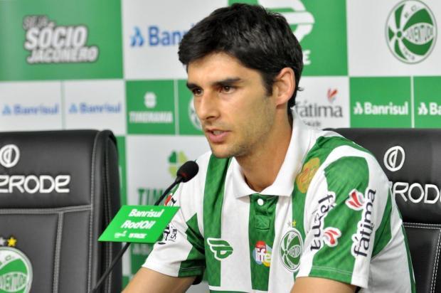 Nova opção para o meio-campo, Guilherme Oselame é apresentado pelo Juventude Arthur Dallegrave/Juventude,Divulgação