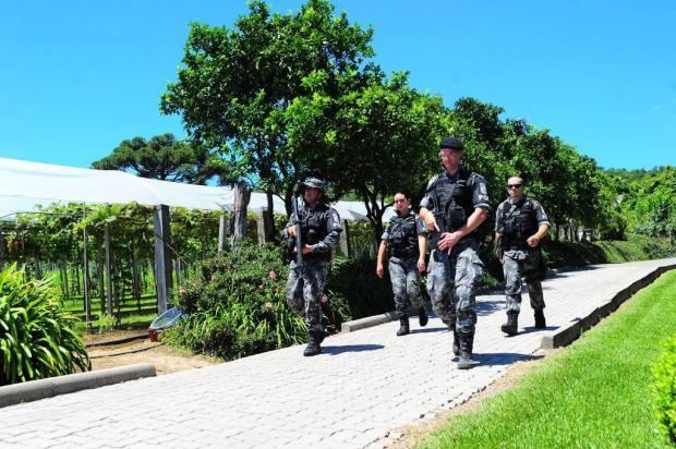 """""""Os criminosos subestimaram o poder de fogo da Serra"""", afirma capitão da BM em Bento Gonçalves Porthus Junior/Agencia RBS"""