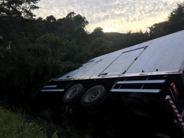 Agricultor é baleado em assalto e tomba caminhão no interior de Caxias do Sul Suelen Mapelli/Agência RBS