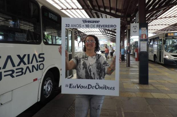 Atividades nas estações de transbordo marcam aniversário da Visate, em Caxias do Sul Alexandra Duarte/Divulgação