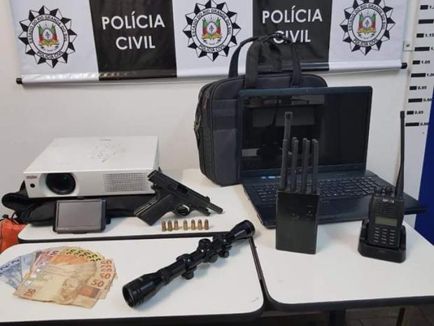 Polícia Civil fecha desmanche de veículos em Caxias do Sul Polícia Civil / divulgação/divulgação