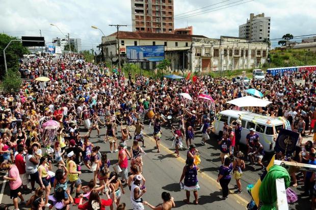 Milhares de foliões se divertem no Bloco da Ovelha na tarde deste sábado, em Caxias Diogo Sallaberry/Agencia RBS
