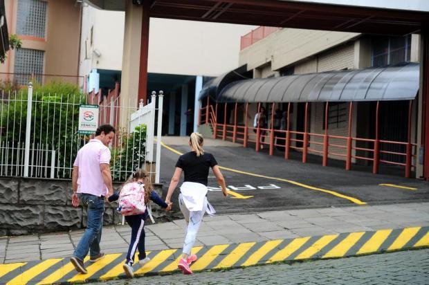 Movimento é tranquilo no trânsito de Caxias durante primeiro dia de retorno às aulas Diogo Sallaberry/Agencia RBS