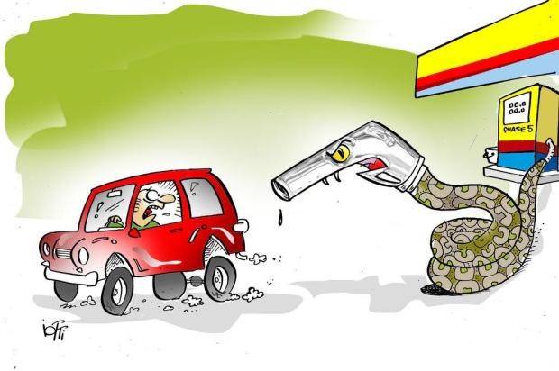 Iotti: preço da gasolina assusta Iotti/Iotti