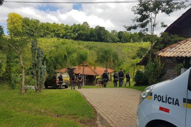 Cerco a criminosos que atacaram carro-forte na Serra completa uma semana Brigada Militar/Divulgação