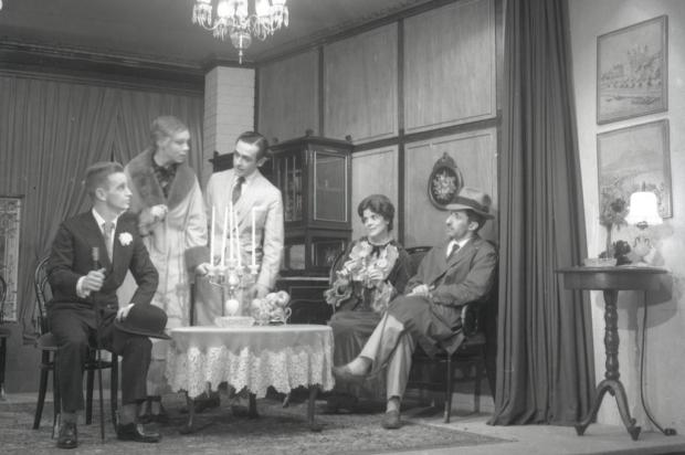 Memória: Mauro De Blanco no Atelier de Teatro da Aliança Francesa em 1961 Mauro De Blanco/Acervo Arquivo Histórico Municipal João Spadari Adami,divulgação