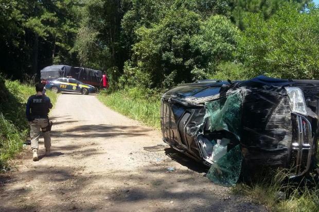 Duas pessoas ficam feridas em acidente em Veranópolis PRF/divulgação