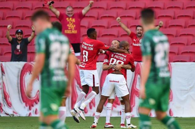 Para os jogadores do Juventude, falta de atenção foi principal defeito na derrota para o Inter Vinícius Costa/Futura Press/Estadão Conteúdo