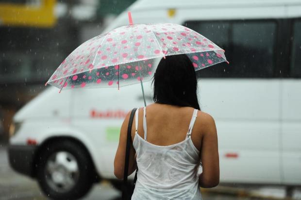Segunda-feira com previsão de pancadas de chuva, em Caxias Diogo Sallaberry/Agencia RBS