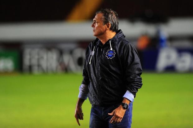 Vídeo: Luiz Carlos Winck comemora invencibilidade do Caxias após o 1 a 1 no Ca-Ju Porthus Junior/Agencia RBS
