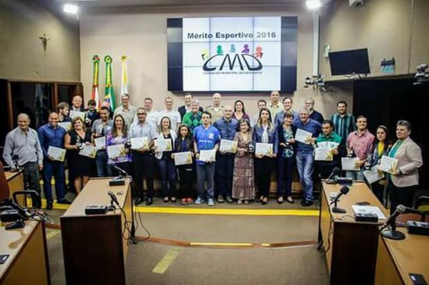 Vote no Mérito Esportivo 2017 de Caxias do Sul CMD / Divulgação/Divulgação