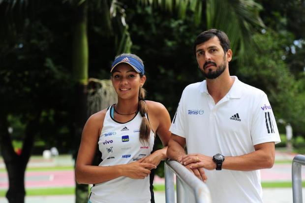 Goiana Lorena Cardoso, destaque do Banana Bowl, iniciou no tênis por vida saudável Porthus Junior/Agencia RBS