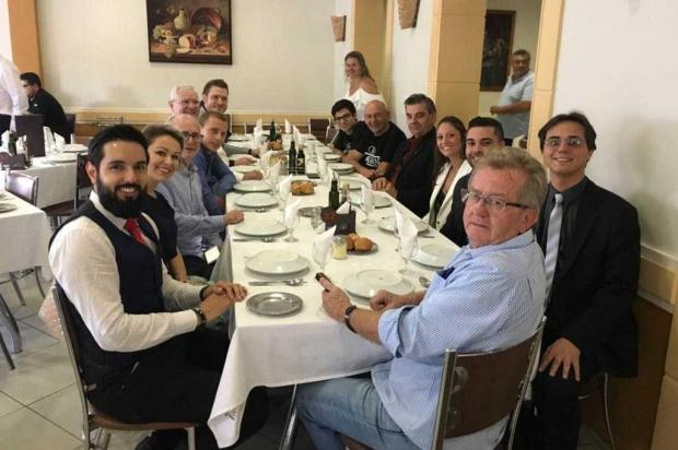Presidente da Havan almoçou com empresários e secretários após anúncio da chegada da loja em Caxias arquivo pessoal/divulgação