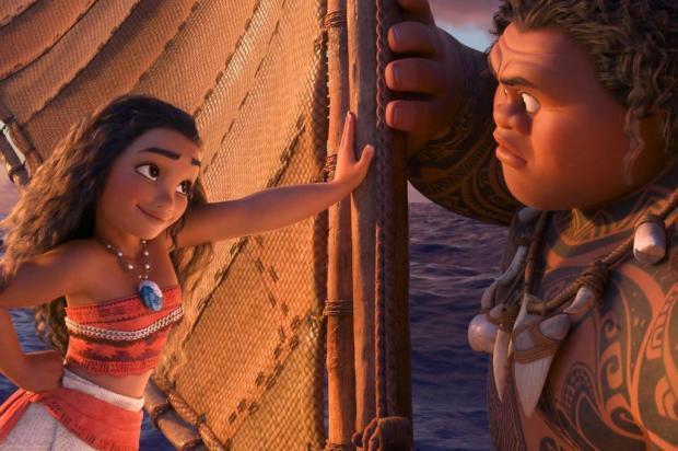 """Agenda: UCS Cinema exibe filme """"Moana - Um Mar de Aventuras"""" nesta segunda Walt Disney Animation Studios/Divulgação"""