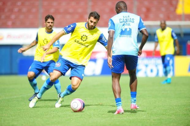 """Caxias aproveita semana de """"folga"""" para recuperar atletas Roni Rigon/Agencia RBS"""