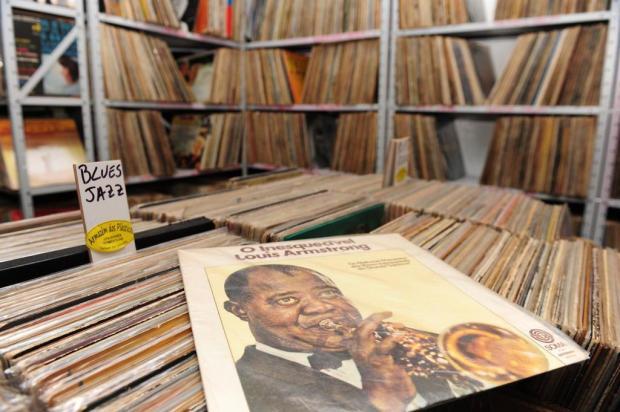 3por4: Antiquário de Garibaldi promove liquidação de discos de vinil Roni Rigon/Agencia RBS