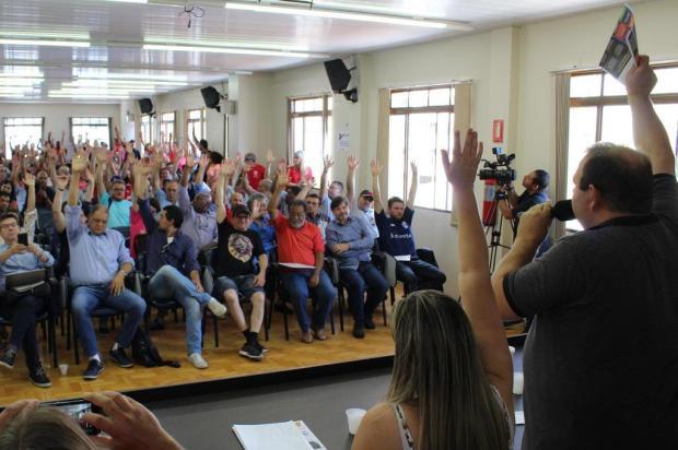 Desconto da contribuição sindical votado em assembleia não vale, dizem especialistas Uliane da Rosa/Sindicato dos Metalúrgicos de Caxias do Sul