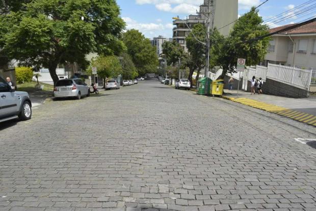 Obras alteram trânsito na Rua Dr. Montaury, em Caxias do Sul Leonardo Portella / divulgação/divulgação