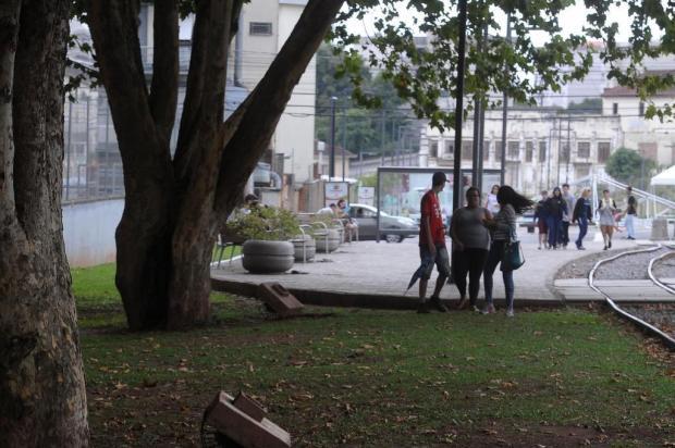 Ação de vândalos muda rotina da Praça do Trem, em Caxias do Sul Marcelo Casagrande/Agencia RBS