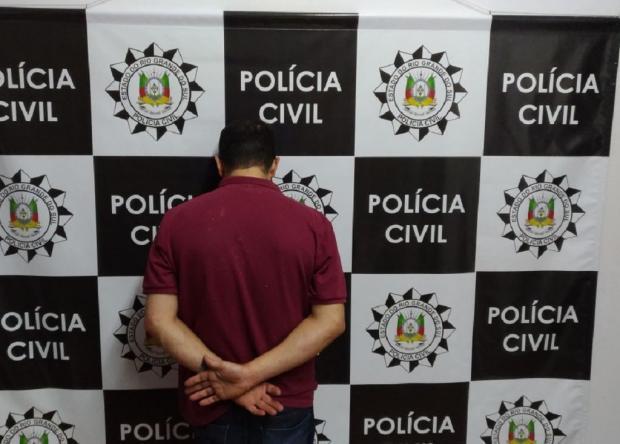 Homem é preso por tráfico de drogas, em Farroupilha Polícia Civil / Divulgação/Divulgação