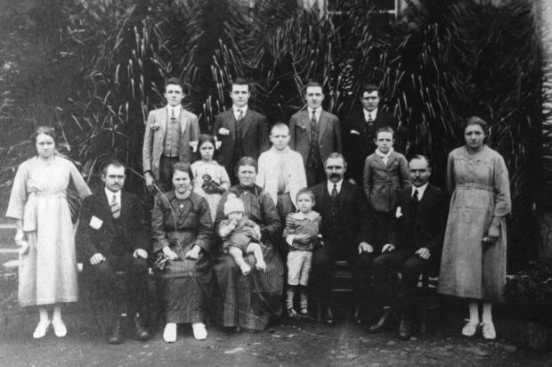 Memória: encontro internacional da família Bigolin em Pinto Bandeira Acervo família Bigolin/divulgação