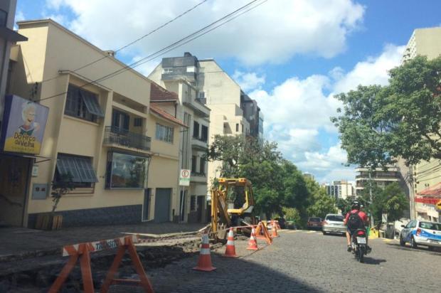 Obras na Dr. Montaury e Av. São Leopoldo entram em fase final André Fiedler/Agencia RBS