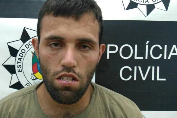 BM captura foragido que é suspeito de sequencia de assaltos em Vacaria Polícia Civil/Divulgação
