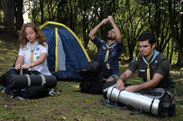 Mais de 800 escoteiros participam de encontro regional em Caxias do Sul Marcelo Casagrande/Agencia RBS