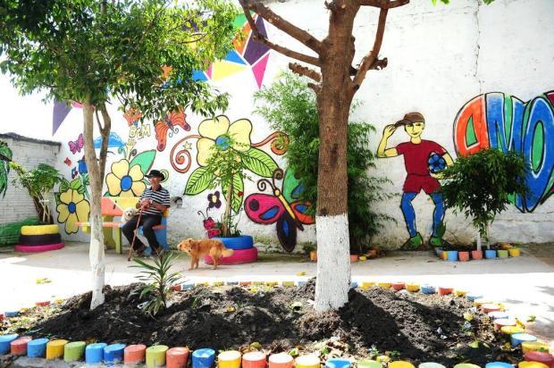 Projeto inaugura praça em local que era usado como lixão, em Caxias Diogo Sallaberry/Agencia RBS