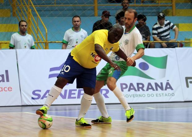 Duelo entre másters da ACBF e seleção brasileira celebra título de Carlos Barbosa como Capital Nacional do Futsal Cristian Rizzi / Divulgação/Divulgação