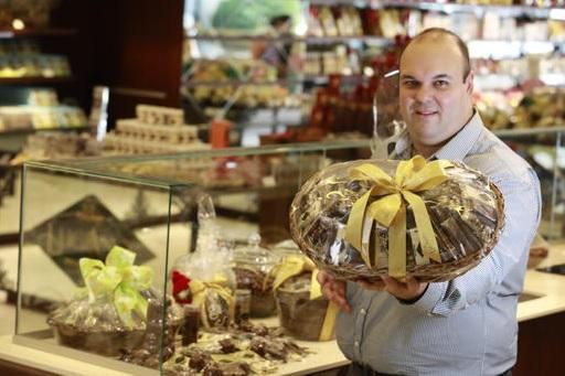 Chocolate Lugano começa a abertura das 50 lojas previstas para 2018 Cleiton Thiele / Agência RBS/