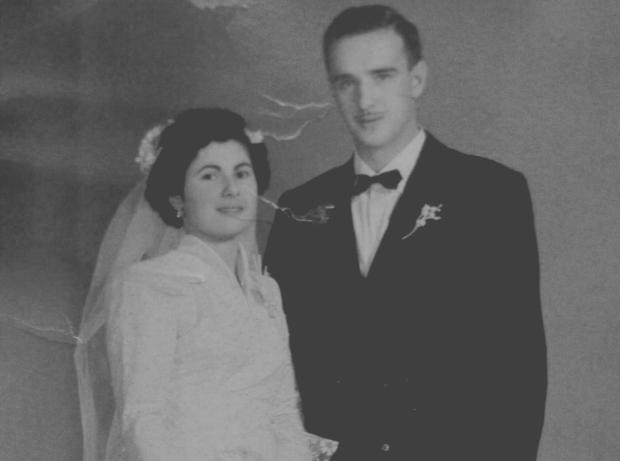 Memória: o casamento de Raul Randon e dona Nilva em 1956 Studio Geremia / Acervo de família, divulgação/Acervo de família, divulgação