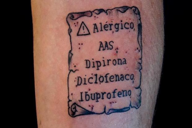 3por4: Conheça o projeto Tattoo do Bem, capitaneado por estúdio de Bento Gonçalves Deise Bianchi/Divulgação