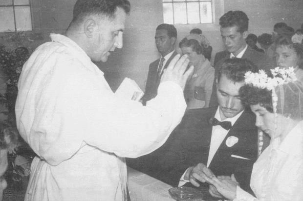 Memória: as bodas de diamante de Aloísio e Otília Parmeggiani Acervo de família/divulgação