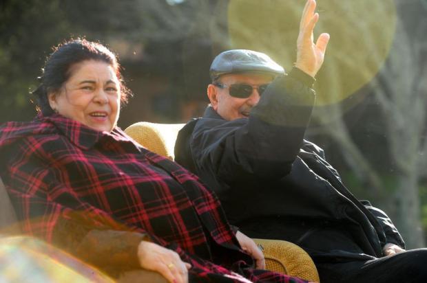 "Dona Nilva e filhos divulgam carta de agradecimento ""aos amigos da família Randon"" Jonas Ramos/Agencia RBS"