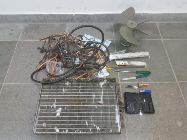 Dois homens são presos por furto a equipamentos do Hemocentro, em Caxias do Sul. Guarda Municipal / Divulgação/Divulgação