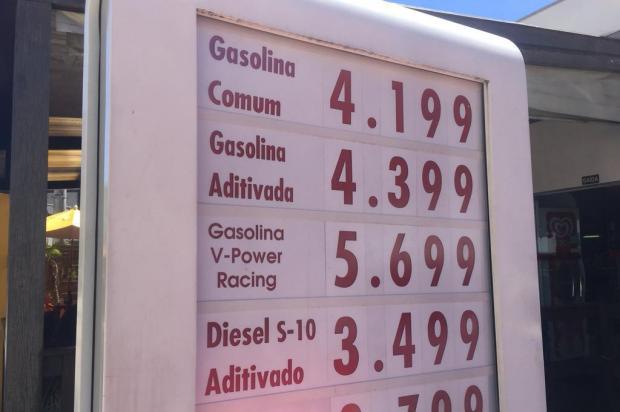 Preço da gasolina a volta a aumentar em Caxias do Sul André Fiedler/Agência RBS